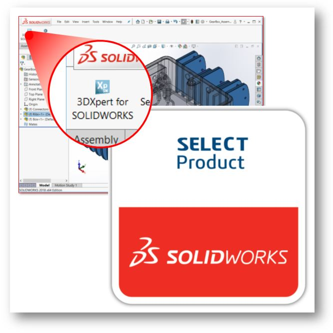 SOLIDWORKS Select Program Logo