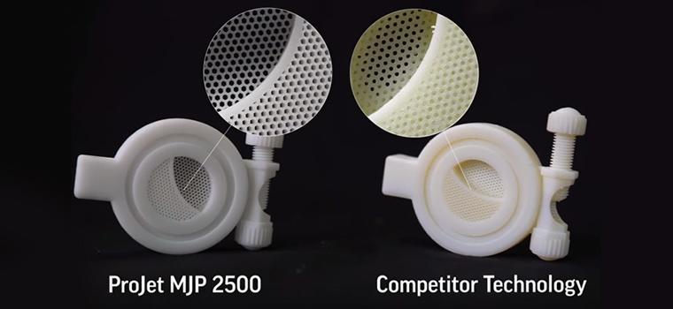 ProJet MJP 2500 Series Precision