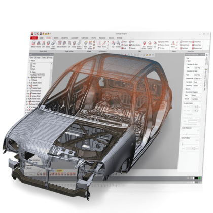 Geomagic Design X Scan-to-CAD solid model software