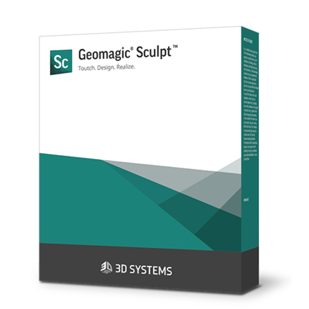 Geomagic Sculpt software for product design