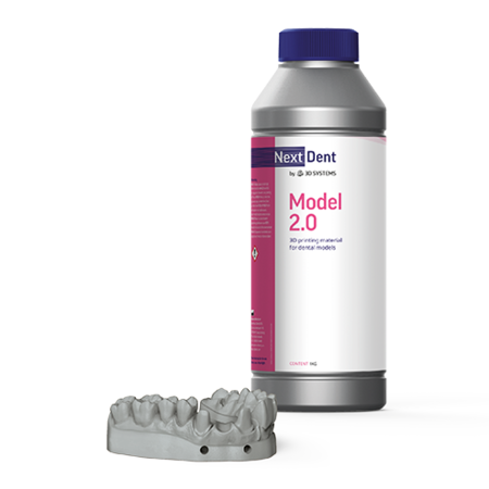 3D Systems NextDent Model 2.0 for Dental Applications